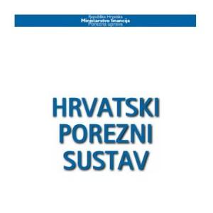 hrvatski porezni sustav